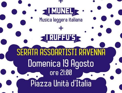 Domenica 19 in Piazza Unità d'Italia a Ravenna tris di band per ASSOARTISTI