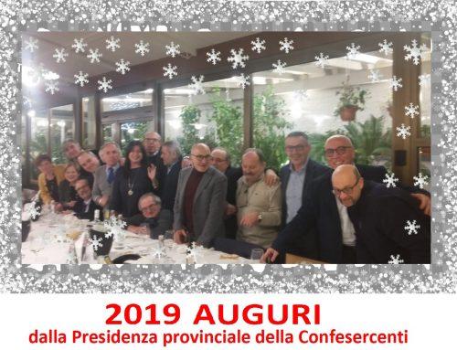 2019 Auguri: gli auspici della Confesercenti