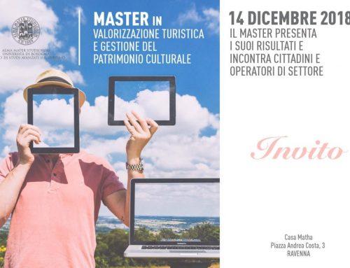 Un buon Master si presenta il 14 dicembre a Ravenna