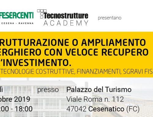 Ristrutturazione delle strutture ricettive: un convegno per gli imprenditori del settore turistico