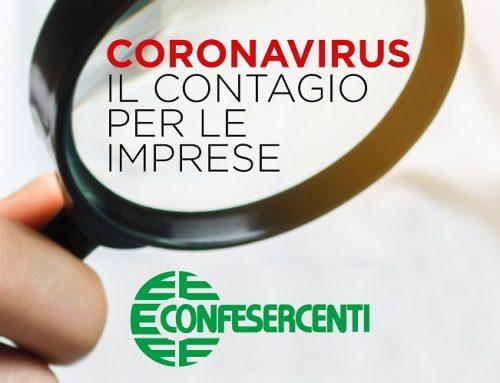 Lo studio dell'Ufficio Economico Confesercenti sugli effetti dell'emergenza da coronavirus