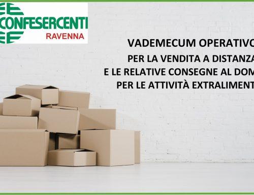 Disponibile per i soci Confesercenti il Vademecum sulla vendita a distanza e sulle consegne a domicilio