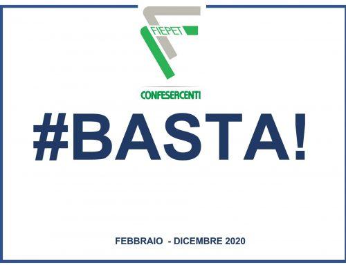 "FIEPET – CONFESERCENTI: ""#BASTA!"". Imprese disperate per la chiusura forzata"